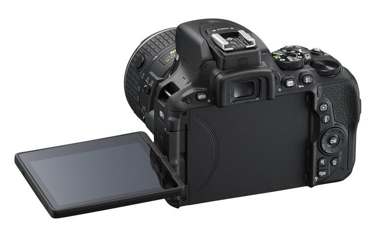 Nuova Nikon d5500 - vista posteriore